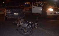Menor sufrió heridas en un accidente