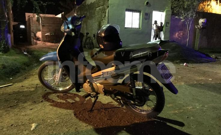 Una menor herida en accidente con una moto