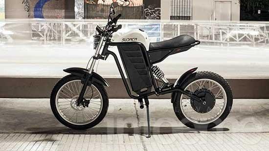 Una moto eléctrica creada por olavarriense