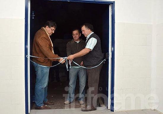 El Fortín inauguró otra importante obra para la entidad