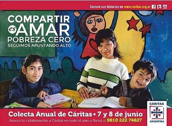 """Cáritas lanza su colecta anual con el lema """"Compartir es amar"""""""