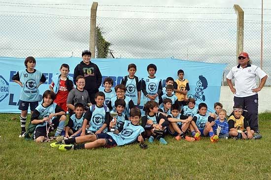 Los chicos de Loma Negra jugaron en Alvear