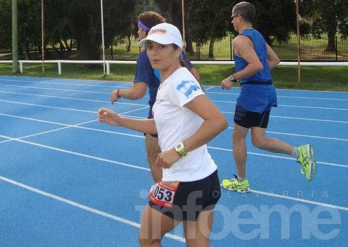 Ivana Farías obtuvo el récord nacional de 24 horas