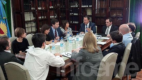 La Comisión de Legislación que preside Vitale recibió al ministro Casal