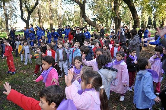 Cientos de nenes disfrutaron en el Parque Eseverri