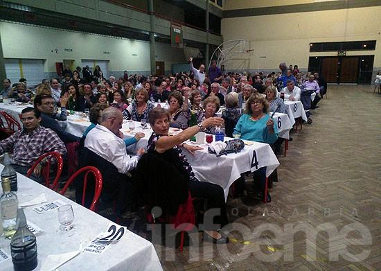 Exitosa cena anual de Cáritas Monte Viggiano