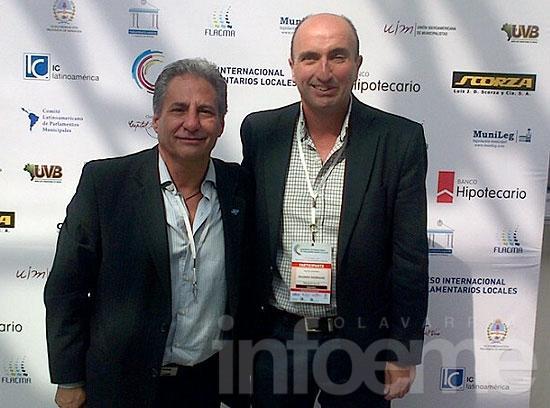 Eduardo Rodríguez en Congreso Internacional de concejales