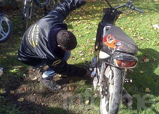 Incautan una moto con pedido de secuestro