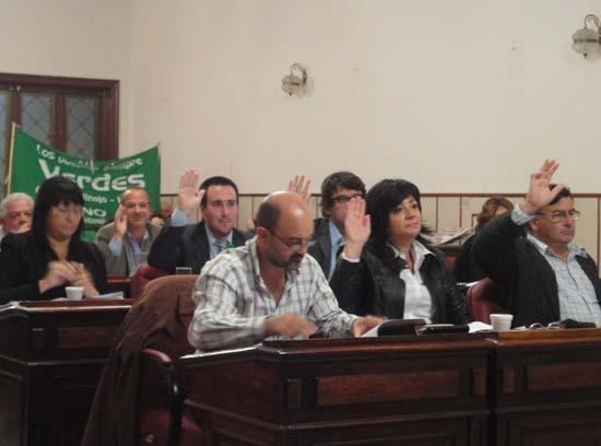 Doble sesión en el Concejo Deliberante