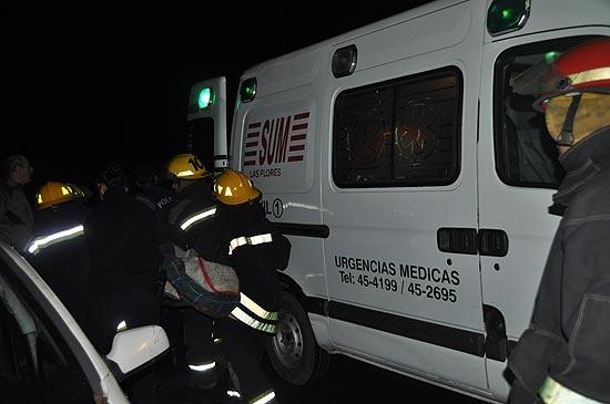 Cinco olavarrienses heridos en dos accidentes sobre Ruta 3