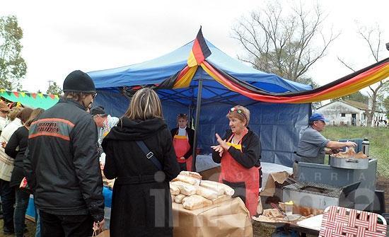 Colonia Nievas celebró la Fiesta de la Kerb