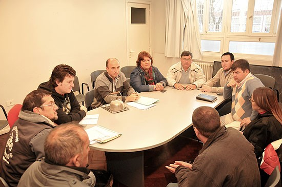 El HCD recibió a motoqueros que se oponen a ley provincial