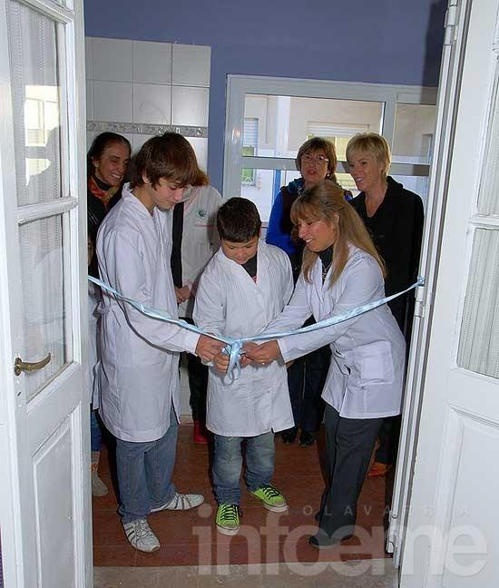 Inauguraron un laboratorio