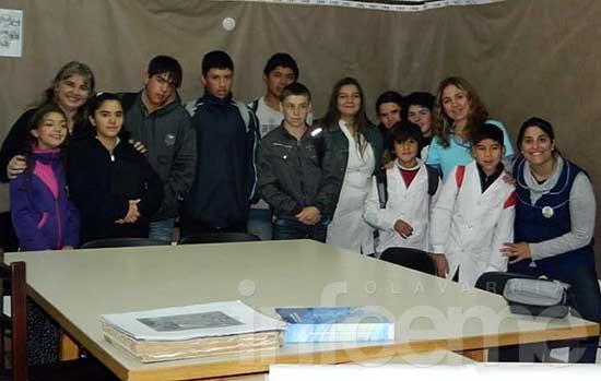 Alumnos de la Escuela Nº 504 recorrieron la historia argentina