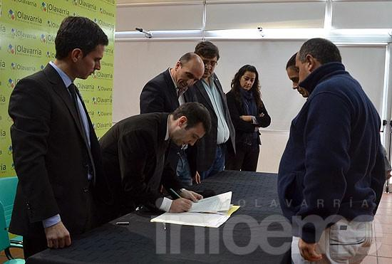 Más de 70 familias olavarrienses firmaron sus escrituras sociales