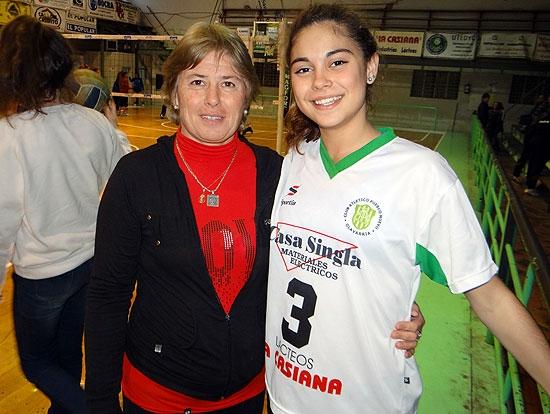 María de la Paz Tolosa en la selección pre-menor argentina