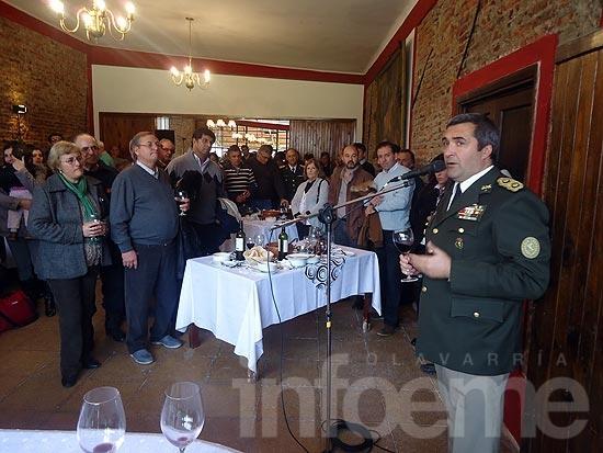 """Se realizó el tradicional """"locro patrio"""" en el Ejército"""