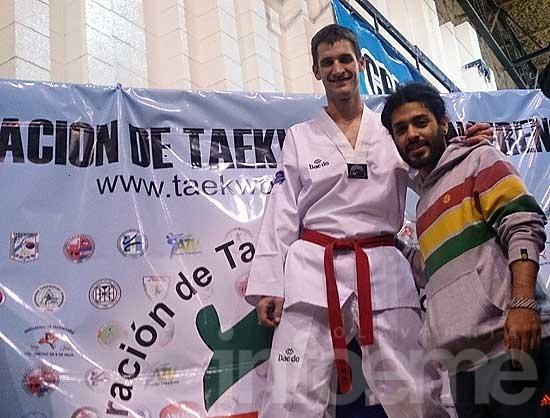 Medalla de oro para Nicolás Minnig