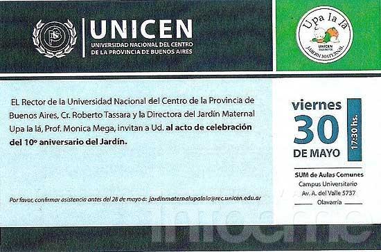 """El Jardín Maternal Universitario """"Upa la lá"""" cumple 10 años"""
