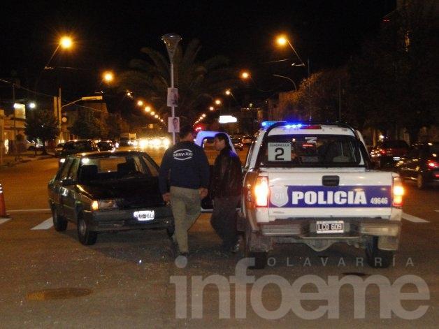 Dos peatones atropellados en el centro