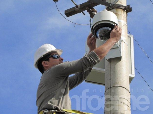 Habrá nuevas cámaras de seguridad en Olavarría