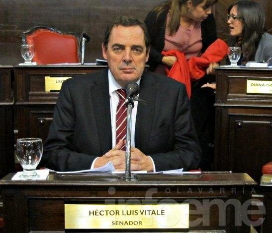 Duras críticas del senador Vitale para con la gestión de Daniel Scioli