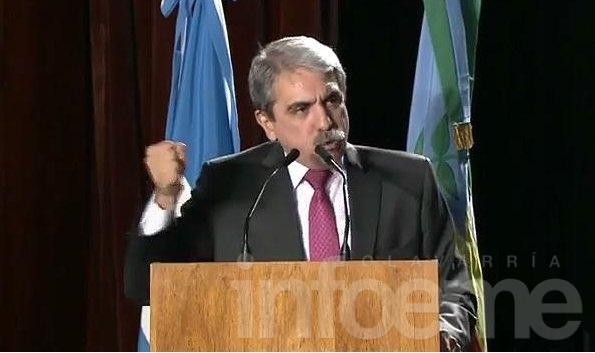 Aníbal Fernández lanzó su precandidatura a gobernador