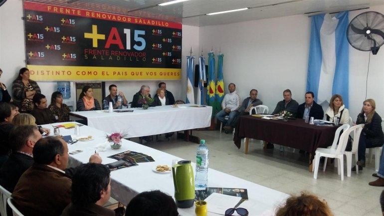 La Mesa Seccional del Frente Renovador se reunió en Saladillo