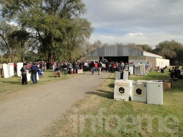 Más de cien mil pesos se recaudaron en el remate anual de Bomberos Voluntarios