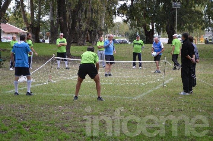 Se jugó el fútbol tenis