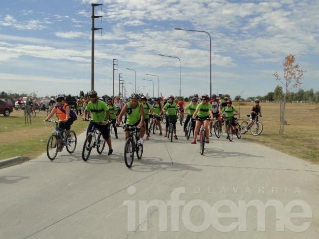 Se postergó la bicicleteada a Sierra Chica