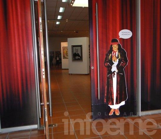 """""""¡Adianchi, Adianchi!"""": Abrió sus puertas la muestra de Alberto Olmedo"""
