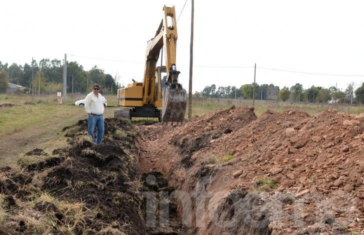 Avanzan las obras en los terrenos del Pickelado