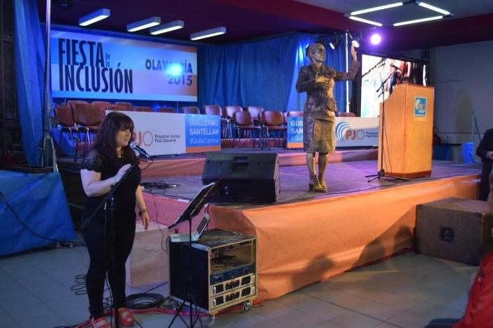 Con la presencia del ministro Aparicio, se realizó la Fiesta de la Inclusión