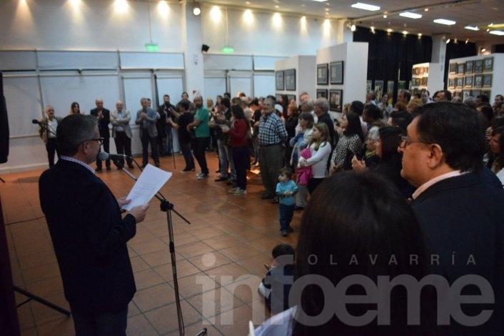 Quedó inaugurada la muestra sobre Alberto Olmedo