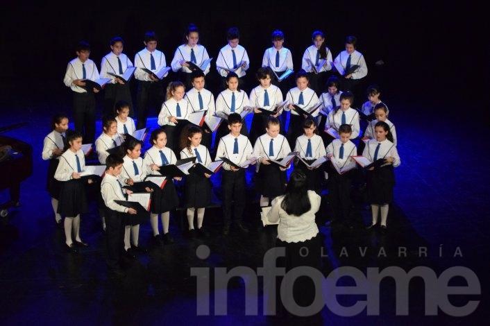 El Coro Nacional de Niños pasó por Olavarría