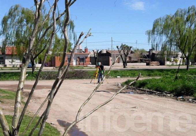 Agrimensores demarcarán terrenos de Procrear en Loma Negra