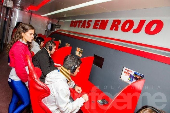 """El móvil de """"Rutas en rojo"""" estará en Olavarría"""