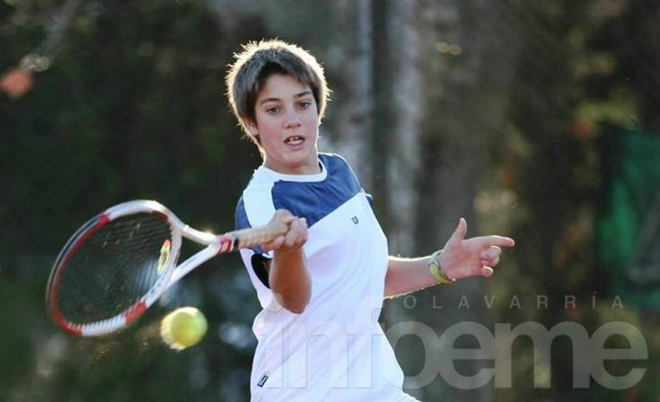 Matías Iturbe en vista para los Juegos Olímpicos de la Juventud