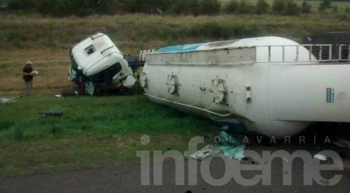 Trágico accidente en la Ruta 3: un camionero muerto