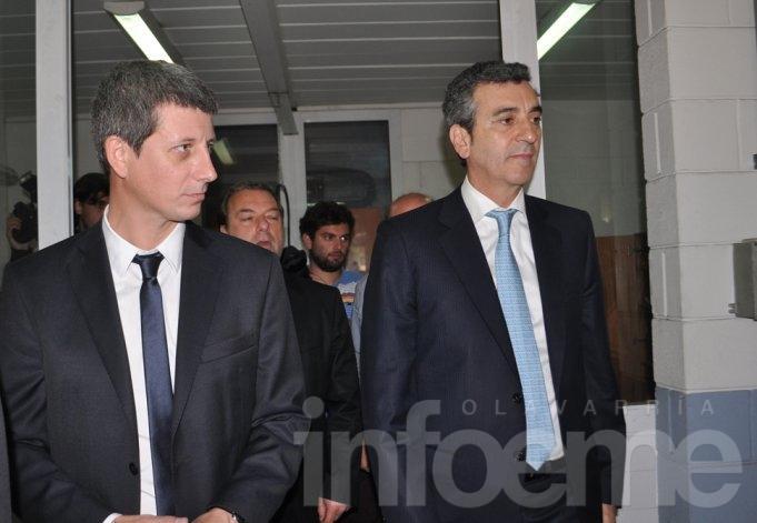 El Ministro Randazzo llega a Olavarría