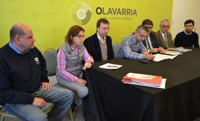 Se firmaron convenios de capacitación laborar para jóvenes