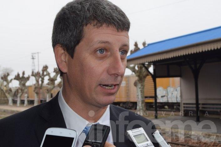 Bagú y Valicenti destacaron la llegada del tren a Olavarría