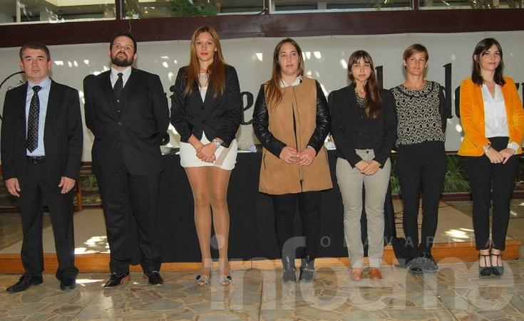 Nuevos profesionales en Colegio de Abogados de Azul