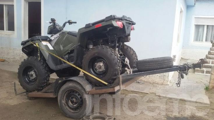 Policía secuestró varios elementos tras allanar un campo