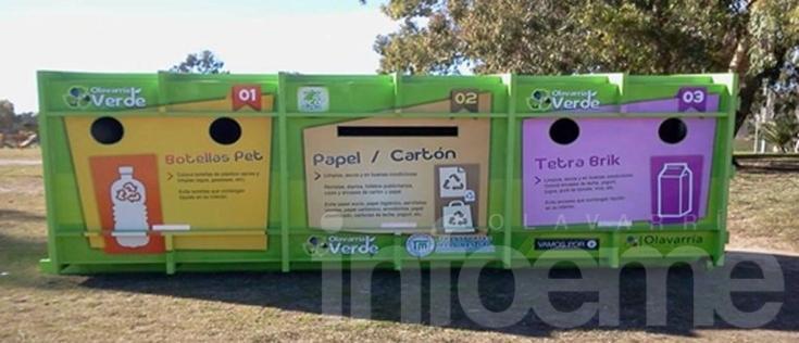 El Ecopunto se instala en el Parque Eseverri