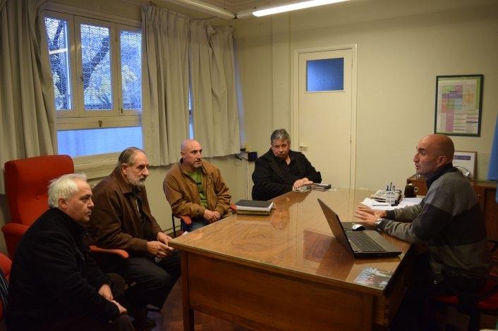 El Presidente del HCD recibió al Consejo de Pastores de Olavarría