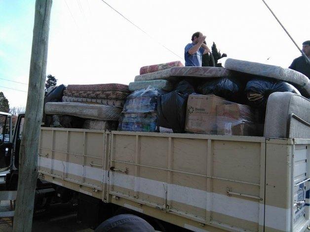 Las donaciones de Olavarría para los inundados del Litoral llegaron a Entre Ríos