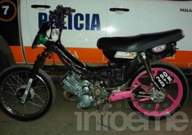 Recuperan motos robadas y clausuran comercio en diferentes operativos
