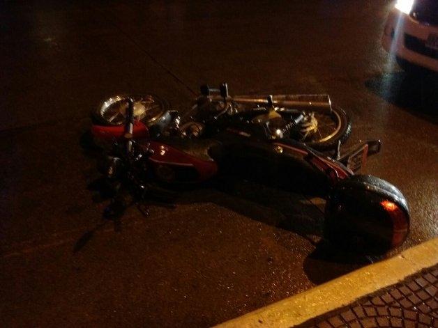 Motociclista herido en choque por alcance
